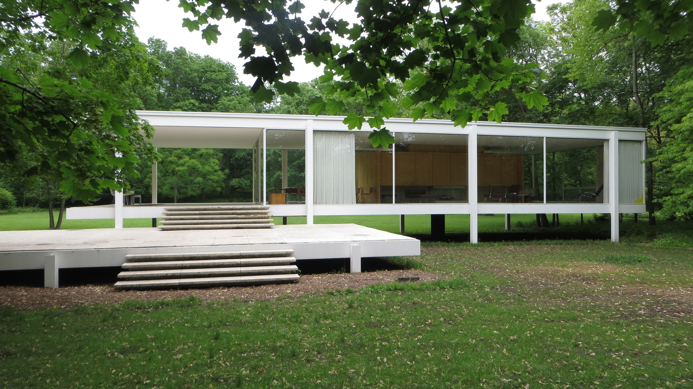 Мис ван дер Роэ, Дом Фарнсуорт, Farnsworth House