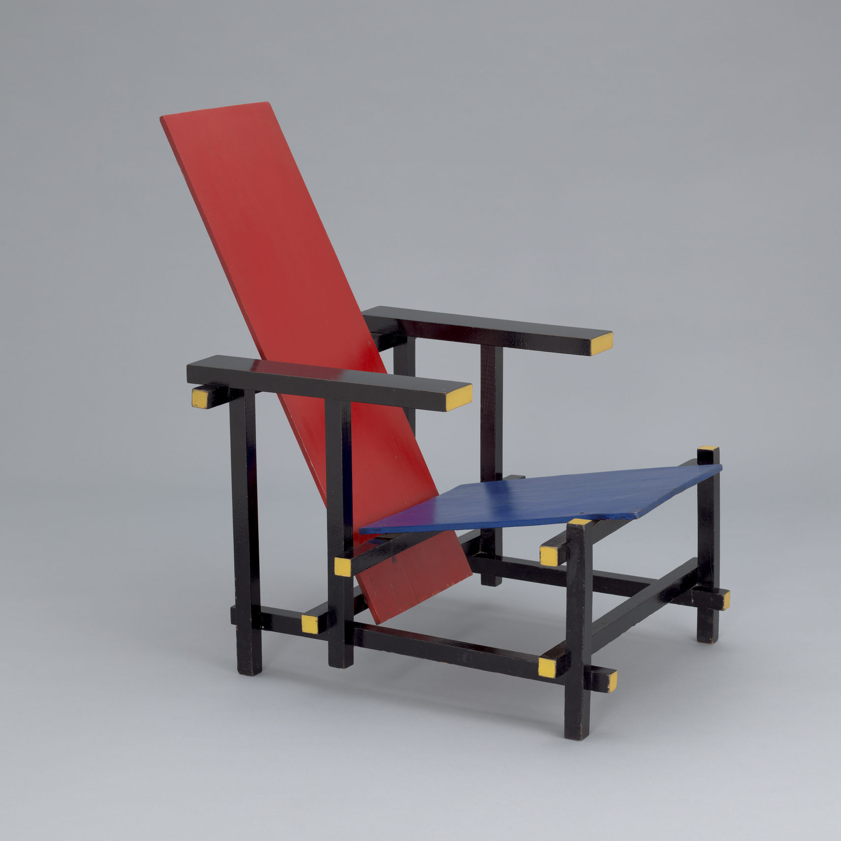 Rietveld Red Blue Chair